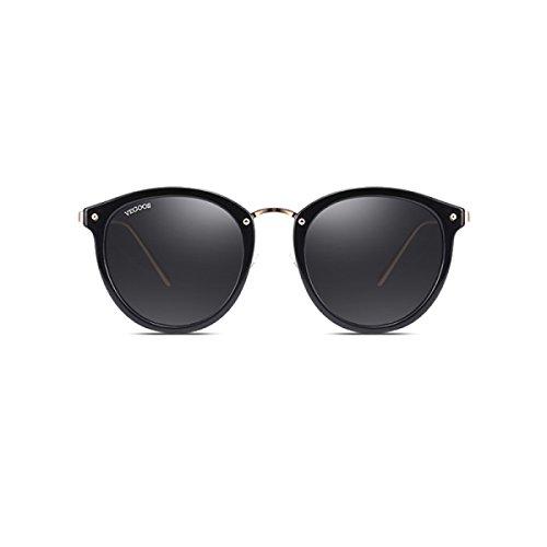 5dce3c1d19 Gafas De Sol Polarizadas Para Mujer Lente Negra Gafas De Sol Wayfarer Gafas  De Sol Classic