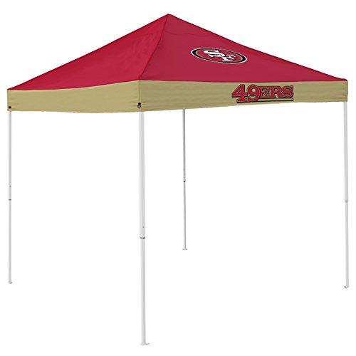 Logo Brands NFL San Francisco 49Ers Economy Tent Economy Tent, Cardinal, One Size