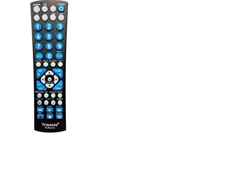 6 WAY All in One Universal Remote Control, Programmable Remotefor Tv, ()