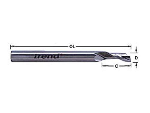 Trend - Fraise pour aluminium dia. 8 mm 50/08X8MMHSSE