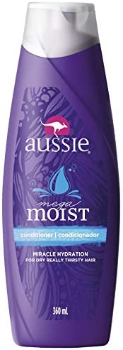 Condicionador Moist, Aussie, 360 ml