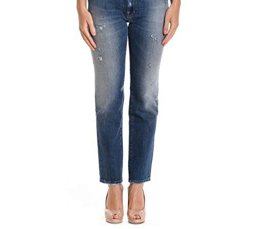 Bleu WPT607TUBED0008L0023 Coton Femme Cycle Jeans EA5wPqx5U