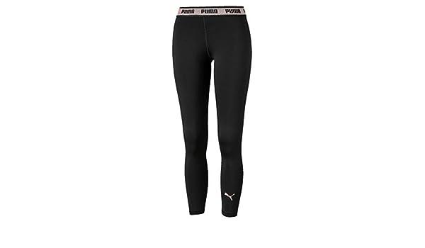 Mujer PUMA Soft Sports Leggings Mallas Deporte XS Black