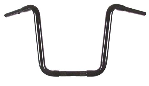 HC-11414GBN HCC 1 1//4 Gloss Black 14 Narrow Ape Hangers for Harley-Davidson models without Batwing Fairing