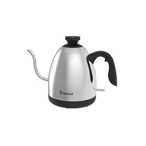 BrewGlobal Brewista SmartPour Switch Kettle, Stainless Steel (BKS12S02)