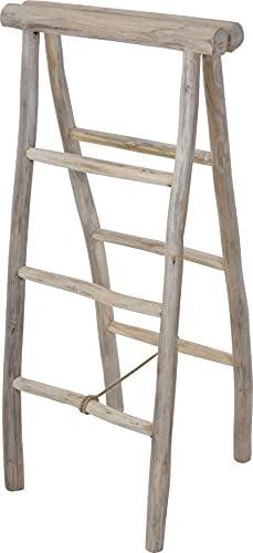 Storage Ladder Wood 100 cm