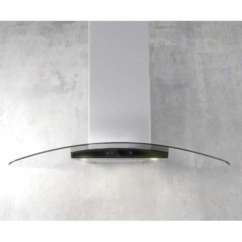 Elica ECM636 600 CFM 36 Inch Wide Professional Grade Wall Mount Range Hood with, Stainless Steel