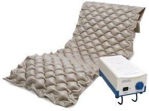 Colchón antiescaras de aire , Con compresor , 200 x 90 x 7