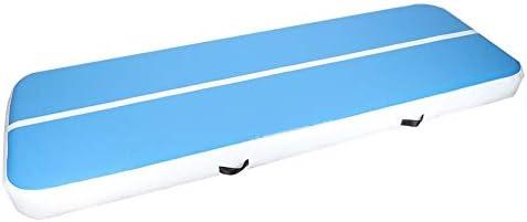 Canyita 空気注入式 体操マット 3メートル 体操 エクササイズ タンブリング エアトラック フロアマット トレーニング用