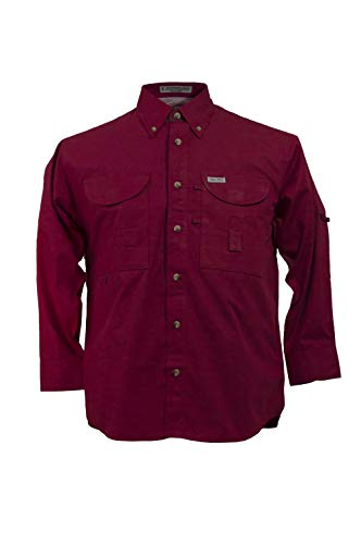 hing Shirt Long Sleeves (5XL, Red) ()