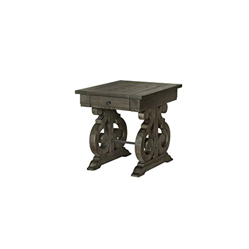 Magnussen T2491-03 Bellamy Rectangular End Table, 24