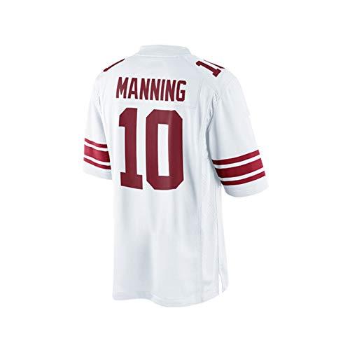 Manning Game Jersey - ZeMeYes_Men/Women/Youth_Eli_Manning_White_Game_Jersey