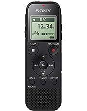 سوني مسجل صوت رقمي مع يو اس بي مدمج - اسود، ICD-PX470