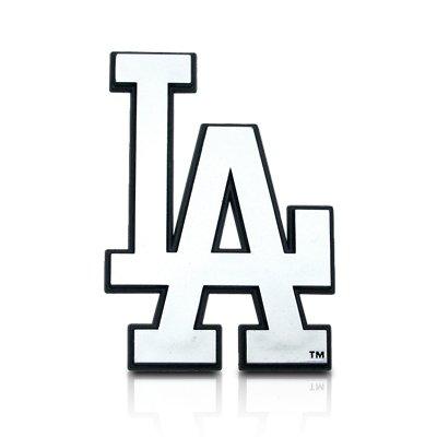 Amazon Mlb Los Angeles Dodgers Chrome Car Emblem Automotive
