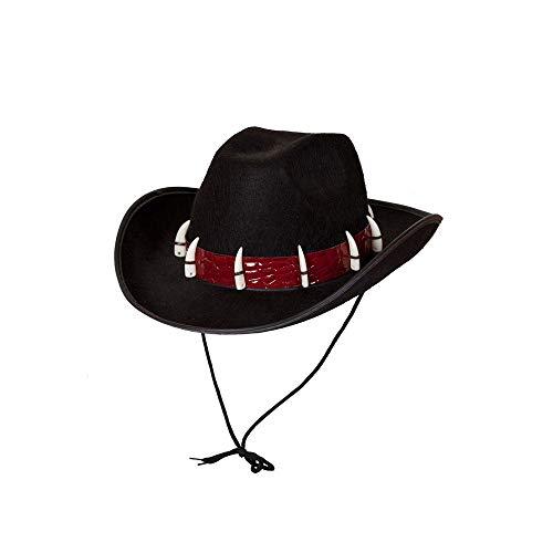 Adult Adventurer Hat Fancy Dress Party Accessory Croc Teeth Australian Outback