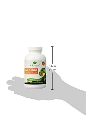 Garcinia Cambogia *** 100% Pure Garcinia Cambogia Extract with HCA, Extra Strength, 180 Capsules, All Natural Appetite Suppressant, carb blocker, Weight Loss Supplement.