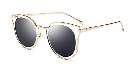cercle polarisées soleil rond métallique retro style vintage B Frêne du Noir inspirées Morceau Lennon de en de lunettes 5E7WPq5v