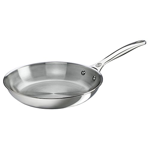 Le Creuset Tri-Ply Stainless Steel Fry Pan, 10-Inch by Le Creuset