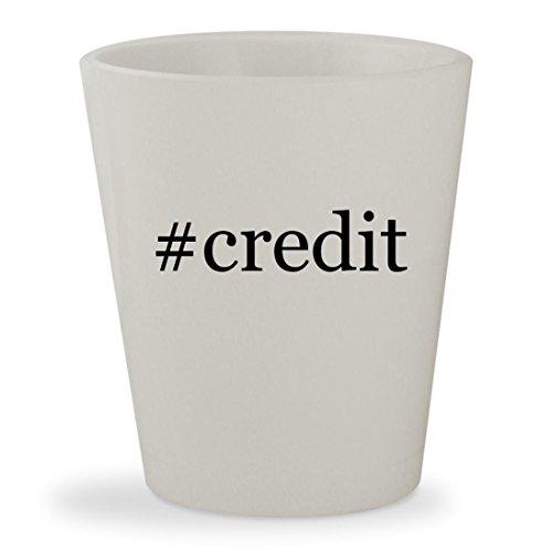 Credit   White Hashtag Ceramic 1 5Oz Shot Glass