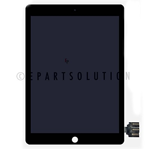 ePartSolution_iPad Pro 9.7'' A1673 A1674 A1675 LCD Display Touch Screen Digitizer Assembly Replacement Part USA Seller (Black)
