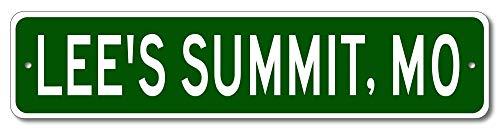 Lee's Summit, Missouri - USA City and State Street Sign - Aluminum 4