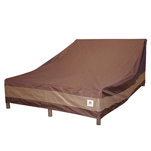 Duck Covers Ultimate Double Patio Chaise Lounge Cover, 82-Inch -