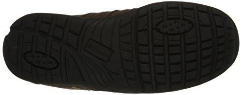 Columbia YOUTH ADVENTURER - zapatillas de trekking y senderismo de piel Niños^Niñas Marrón Braun (Mud 255)