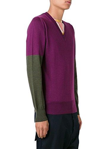 Vivienne Westwood Homme S25HA0332S15787001F Gris/Violet Laine Maille