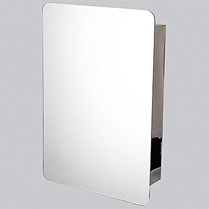 ZYZX Minimalista Moderno Material de Acero Inoxidable 304 Actividades de protección medioambiental retrovisor baño Lavabo Armario