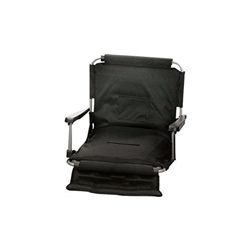 Picnic Plus Wide Width Stadium Seat With Arms, Straps To Bench & Bleachers (Large Stadium Seats With Backs compare prices)