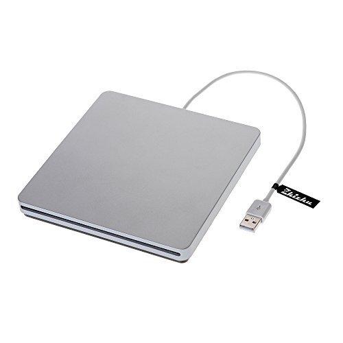 Zhizhu External CD Drive USB DVD Drive CD Burner Player USB 2.0 Cable USB Superdrive Mac Apple iMac by Zhizhu (Image #2)