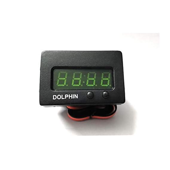 Dolphin Tata INDICA CAR CLOCK/INDIGO digital clock