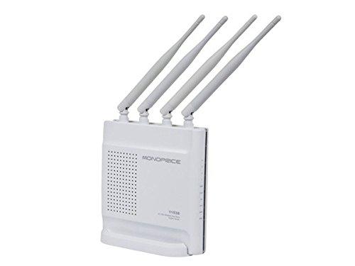 Monoprice AC1200 Wireless Dual Band Gigabit Router (111538)
