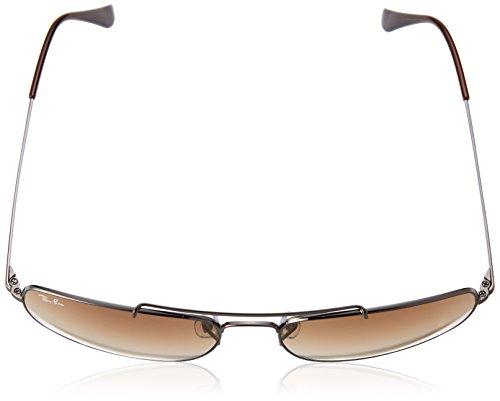 Gafas ban Brown Oberst Rb3560 De nbsp;61 En Gunmetal Sol Ray La 51 Gradient nbsp;004 Zwtdxqv8