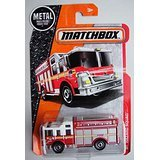 Matchbox 2016 MBX Heroic Rescue Hazard Squad Fire Engine 87/125, Red