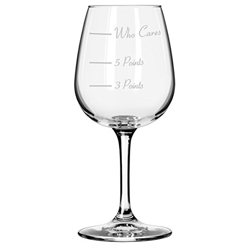 The Points Glass Wine Glass by Caloric Cuvee