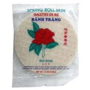 Amazon.com : Rose BCA64862 Rice Paper 22 Cm, 12 x 12 oz