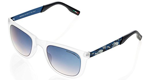 Techno Black Reef Sunglasses White and Camo Frame