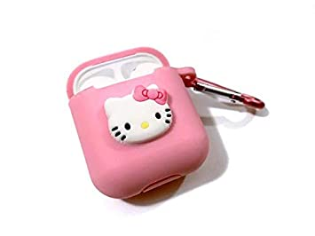 Amazon.com: Airpod Case - Cute Cartoon AirPods Silicona Case ...