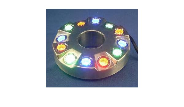Hi Power Wide Angle LED Fountain Ring Light RGB Color Changing