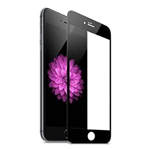 Tempered Glass Screen Protector Full Frame For Iphone 7 - Black