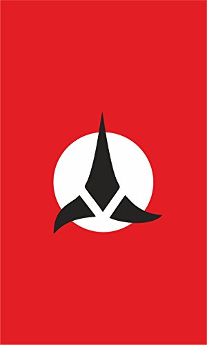 Star Trek Banners (Star Trek Flag | Klingon Flag | 3x5 ft / 90x150 cm | Long Lasting Flag (Banner ( 3x5 ft / 90x150 cm )))