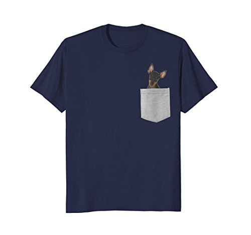 Dog in Your Pocket Manchester Terrier T-shirt