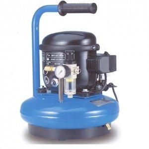 Compresor de aire silencioso cubeta de 6 litros 8 Bars 190 W ABAC