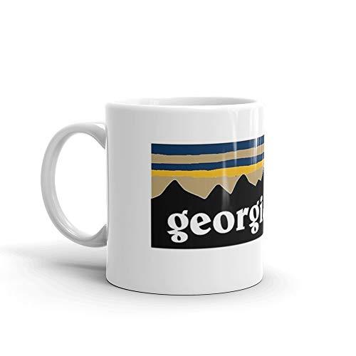 Georgia Tech Mug 11 Oz White Ceramic