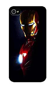 Design For Iphone 5/5s Premium Tpu Case Cover Iron Man Protective Case hjbrhga1544