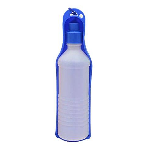 Glumes Dog Water Bottle for Walking-Pet Water Dispenser Portable Dog Cat Travel Water Drink Bottle Bowl Dispenser Feeder Dogs Outdoor Drinking Cup