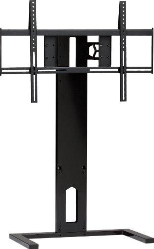 BDI Arena 9972 Freestanding Flat Panel TV Mount for 40-inch to 70-inch TVs, Gloss Black - Gloss Black Flat Panel Tv