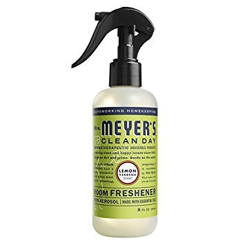 Mrs. Meyer's Clean Day Room Freshener Spray, Lemon Verbena 8 oz -2 Pack