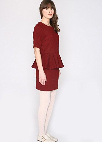 Pepaloves Mujer Para Rojo Delia Camisa wine rx1YArqw